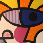 Elvis Star - Romero Britto