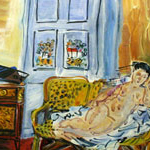 Unknown (Nude) - Raoul Dufy